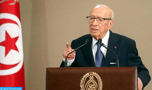 Décès du président tunisien Béji Caid Essebsi (présidence)
