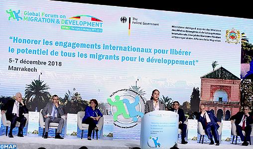 Le GFMD, un processus de consultations et d'échange majeur dans le domaine de la migration en rapport avec le développement (co-président du Forum)