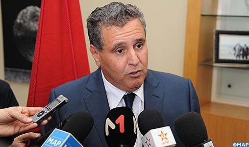 M. Akhannouch : le vote du Parlement européen en faveur de l'accord de pêche conforte le Maroc dans un partenariat qu'il a toujours considéré comme durable