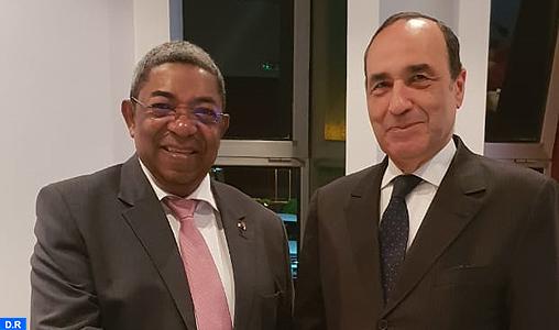 M. El Malki s'entretient avec le président de l'Assemblée nationale de Madagascar