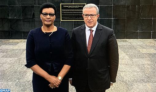 La présidente du Parlement rwandais salue l'engagement du Maroc en faveur d'un partenariat stratégique avec son pays
