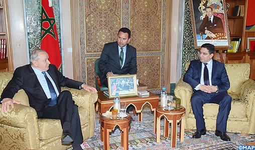 M. Bourita s'entretient avec le président du Parlement d'Amérique Latine