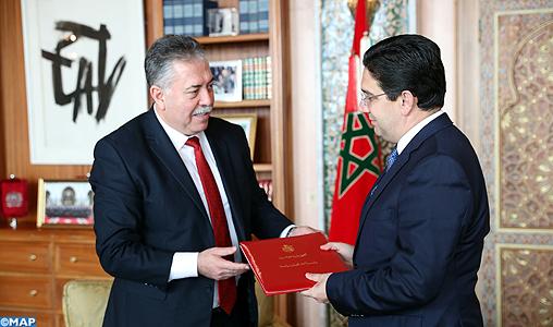 M. Bourita reçoit un émissaire du président tunisien, porteur d'un message à SM le Roi