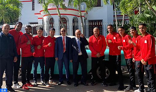 Boxe : L'équipe nationale en stage de préparation à Cuba