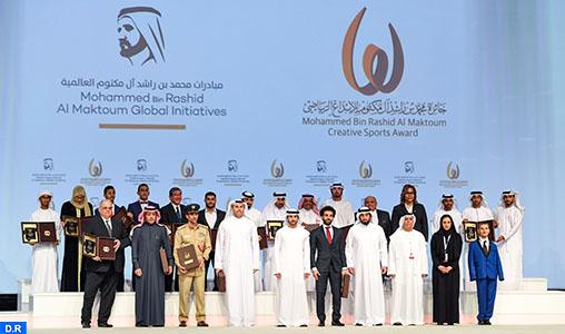 Prix Mohammed Bin Rashid Al Maktoum de créativité sportive : Remise à Dubaï des distinctions aux différents lauréats, dont deux marocains