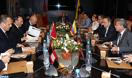 El Malki highlights the strong will to breathe a new life in the relations between the Moroccan and Colombian parliaments