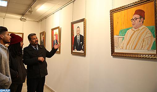 Vernissage à Fès d'une exposition sur les Sultans et les Rois de la dynastie Alaouite