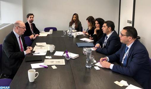 La formation d'enseignants marocains en anglais au cœur d'entretiens maroco-britanniques à Londres