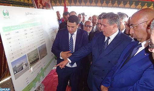 M. Akhannouch s'enquiert de l'état d'avancement de plusieurs projets agricoles dans la région de l'Oriental