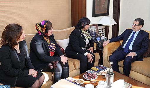 M. El Otmani souligne l'importance de l'initiative féminine dans le domaine de l'entrepreneuriat