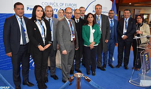 Une délégation parlementaire marocaine prend part à Strasbourg à la session d'hiver de l'APCE