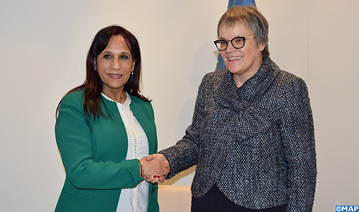 """Droits humains: La présidente de l'APCE se félicite des """"progrès certains"""" du Maroc"""