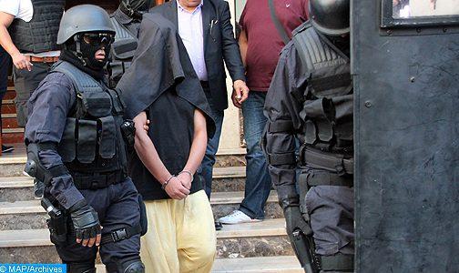 Démantèlement d'une cellule terroriste de 13 éléments actifs dans quatre villes du Royaume
