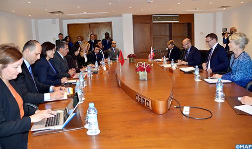 M. Akhannouch s'entretient avec le secrétaire d'État auprès du ministre des Pêches norvégien