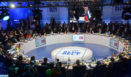 """Des ministres africains et européens soutiennent l'initiative """"Ceinture bleue"""" lancée par le Royaume"""