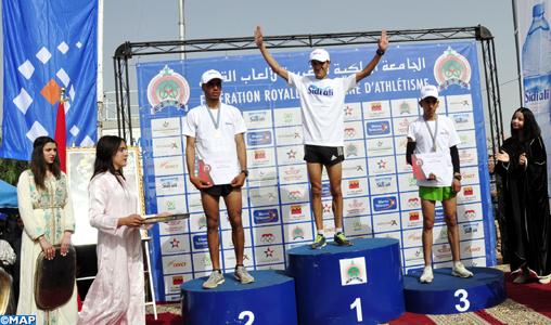 Championnat national de cross-country à Bejaâd : victoire de Keltoum Bouaâssria et Mustapha Hedadi chez les seniors