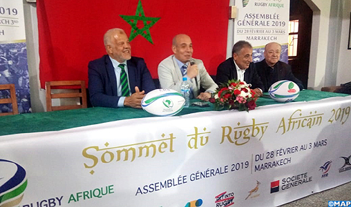 """Abdelaziz Bougja """"choisit"""" le Maroc pour briguer un dernier mandat à la tête de Rugby Afrique"""