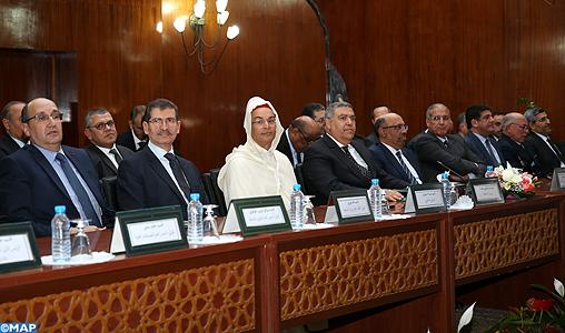 Le ministre de l'Intérieur préside la cérémonie d'installation du nouveau Wali de la région de Casablanca-Settat