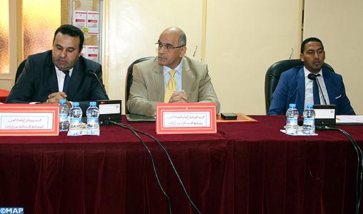 Journée d'étude à Ouarzazate sur la sécurité routière