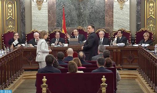 Espagne : reprise du procès des ex-responsables indépendantistes catalans