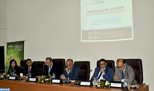 """Marrakech : Dialogue multi-acteurs sur """"L'université, plate-forme pour des solutions innovantes aux défis du développement durable en Afrique"""""""
