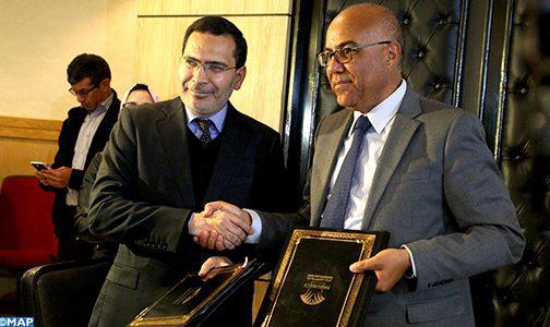 Marrakech: Signature d'une convention de partenariat pour le renforcement des capacités des acteurs associatifs et du plaidoyer civil en faveur de la cause nationale