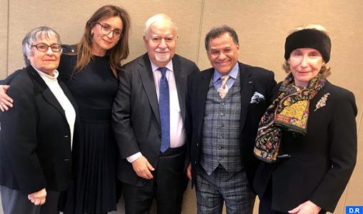 Mehdi Qotbi tient des réunions de travail à New York avec les responsables des grands musées newyorkais
