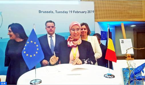 Mme El Ouafi met en exergue à Bruxelles la politique volontariste du Maroc en matière d'énergies renouvelables