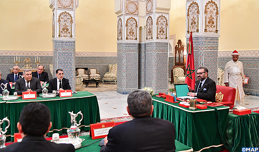Sa Majesté le Roi préside à Marrakech un Conseil des ministres