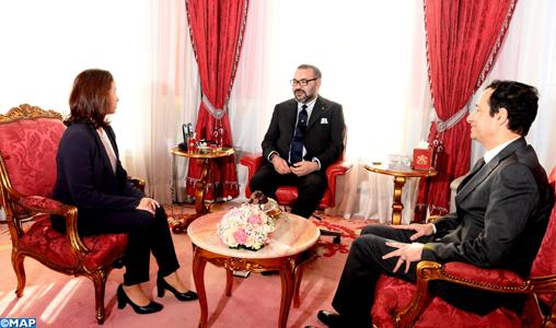 SM le Roi reçoit la nouvelle présidente du directoire du Fonds Hassan II pour le développement économique et social