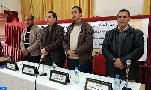 Tinghir: La société civile joue un rôle central dans la réalisation du développement au Maroc