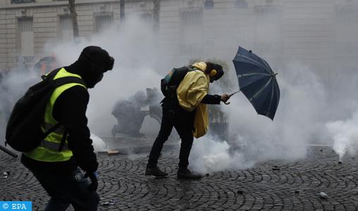 """""""Gilets jaunes"""" : près de 1800 condamnations prononcées par la justice depuis le début du mouvement"""