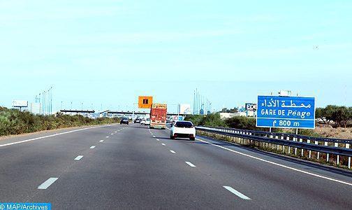 Travaux sur l'autoroute Rabat-Moulay Bousselham : Circulation suspendue provisoirement sur le pont de l'échangeur Sidi Allal Tazi, du 20 mars au 6 avril (ADM)