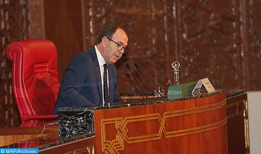 M. Benchamach appelle au renforcement de la coopération institutionnelle parlementaire avec les Émirats Arabes Unis
