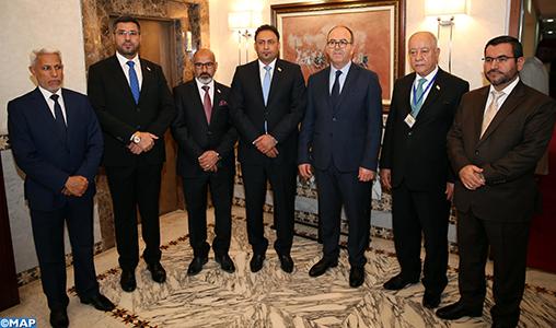 L'intensification de la coordination dans les forums parlementaires au centre d'entretiens maroco-irakiens