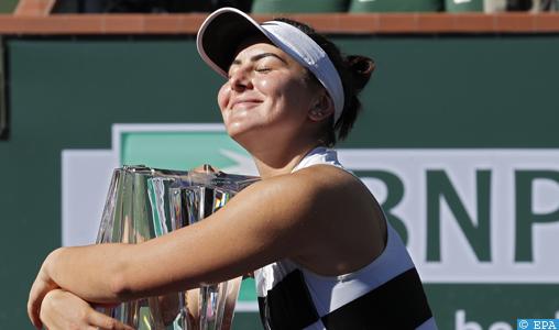 Tournoi d'Indian Wells : la Canadienne Bianca Andreescu sacrée