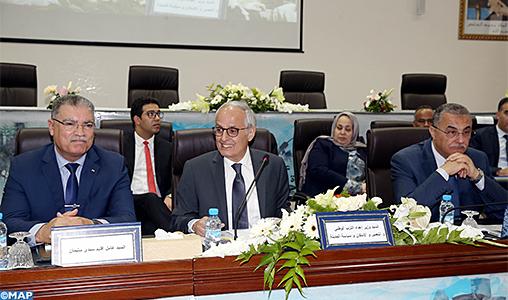 Le Conseil d'administration de l'Agence urbaine de Kénitra-Sidi Kacem-Sidi Slimane tient sa 18-ème session