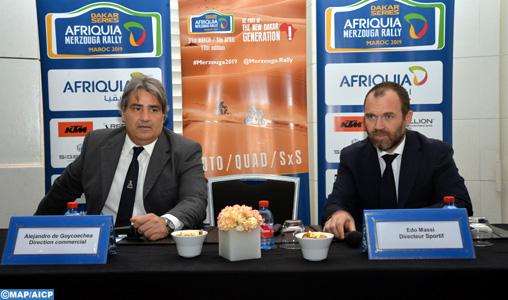 Afriquia Merzouga Rally un événement solidaire et respectueux (directeur sportif)