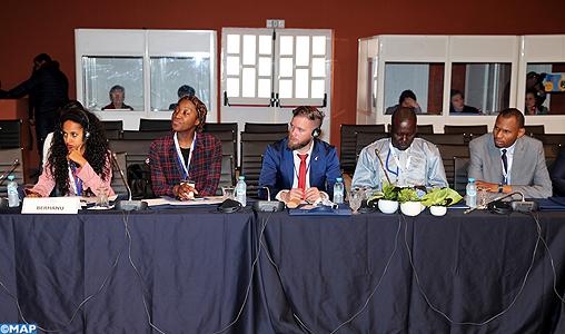 Les jeunes d'Afrique plaident pour l'autonomisation et l'inclusion sociale face à la violence et l'extrémisme (Déclaration de Dakhla)