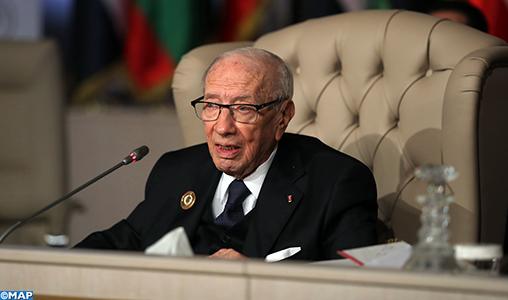 Le Président tunisien plaide pour le renforcement de l'action arabe commune et une réconciliation basée sur la confiance mutuelle