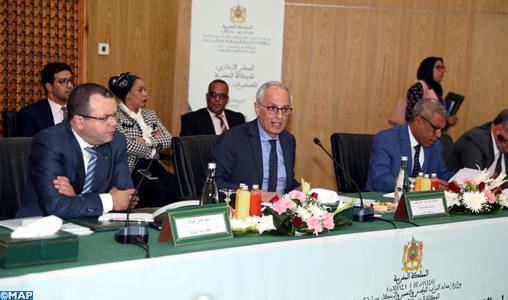Skhirate-Témara: Le Conseil d'administration de l'Agence urbaine tient sa 6-ème session