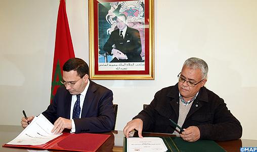 Signature, à Rabat, d'une convention-cadre visant à promouvoir le volontariat parmi les jeunes