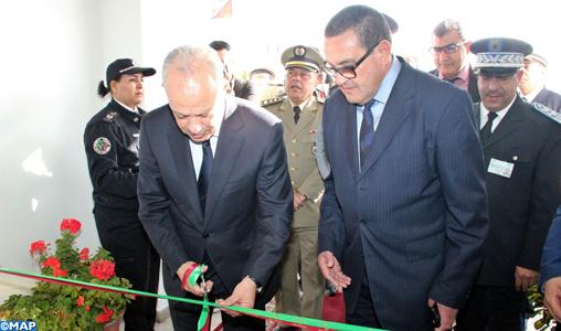 Inauguration du nouveau siège du district du port de Tanger-ville