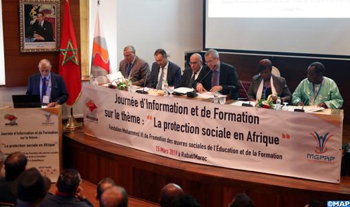 Le Maroc a réalisé des progrès notables en matière de protection sociale (M. Chami)