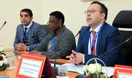 Lancement à Rabat d'un atelier international visant la consolidation du partenariat Sud-Sud de l'ENSP