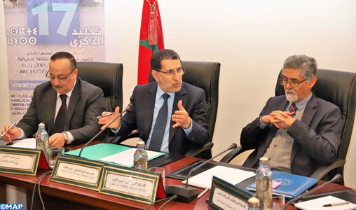 Rabat: le chef du gouvernement et les responsables de l'IRCAM discutent de la mise en oeuvre de l'officialisation de la langue amazighe