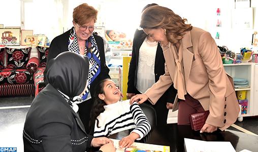 """SAR la Princesse Lalla Meryem préside à Rabat la célébration des cinquante ans de """"Al Manar-Association des personnes handicapées mentales"""""""