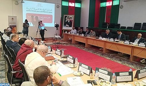 Tan-Tan: Réunion du Comité provincial du développement humain
