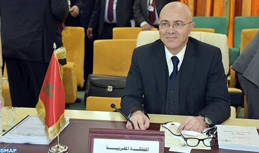 Ouverture à Tunis de la réunion préparatoire du Sommet arabe au niveau des hauts fonctionnaires du CES avec la participation du Maroc