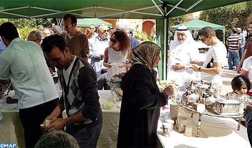 L'art culinaire marocain brille de mille feux à Riyad à l'occasion de la célébration de la journée internationale de francophonie